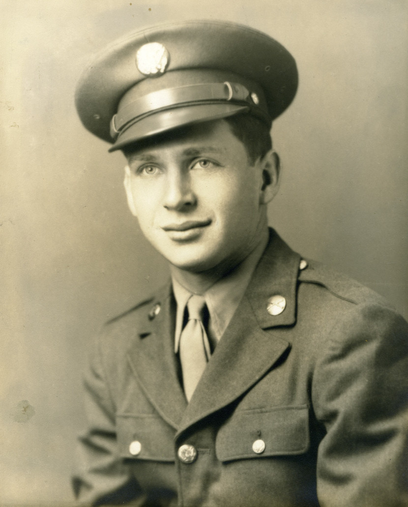 Portrait Stuart Canin in uniform