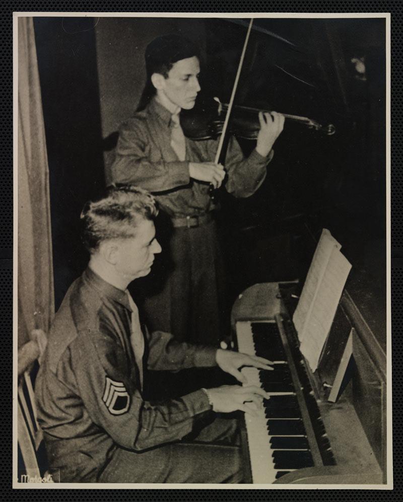 Stuart Canin and Eugene List 1945